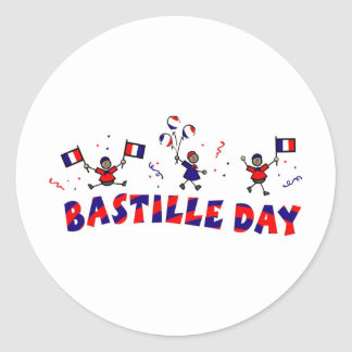 Bastille Day Gifts and Tees Classic Round Sticker