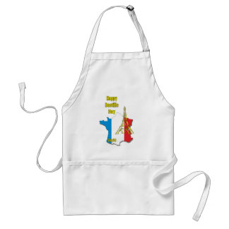 Bastille Day July 14 Aprons