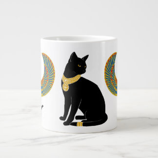 Bastst: Winged Cat of Isis! Jumbo Mug