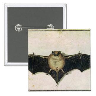 Bat, 1522 15 cm square badge
