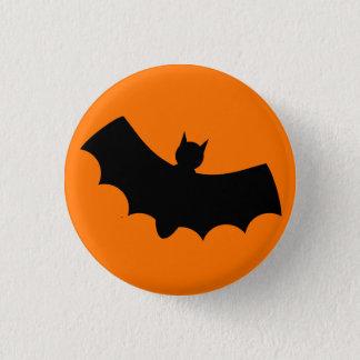 Bat 3 Cm Round Badge