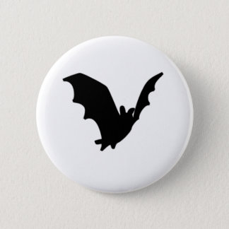 Bat 6 Cm Round Badge
