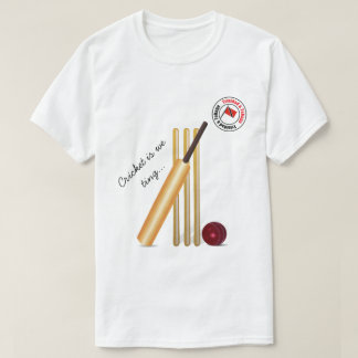 Bat And Ball Trinidad And Tobago Cricket T-Shirt