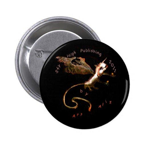 Bat Art Button by Art Aliz