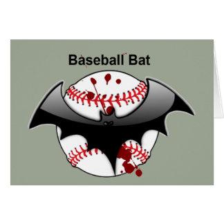 Bat...Baseball...Baseball Bat Greeting Card