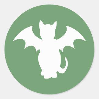 Bat Cat Stickers
