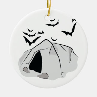 Bat Cave Christmas Ornament