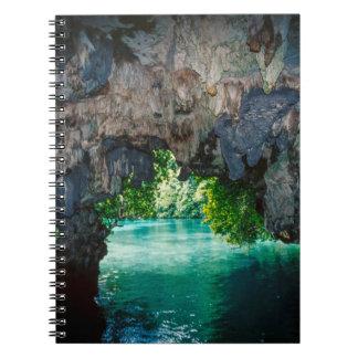 Bat Cave In Airai, Palau, Micronesia Notebooks
