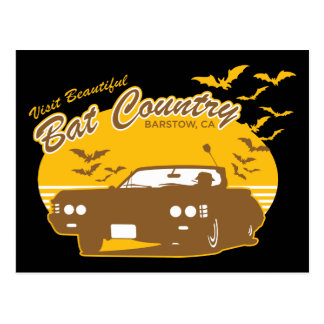 Bat Country - we can t stop here Post Card
