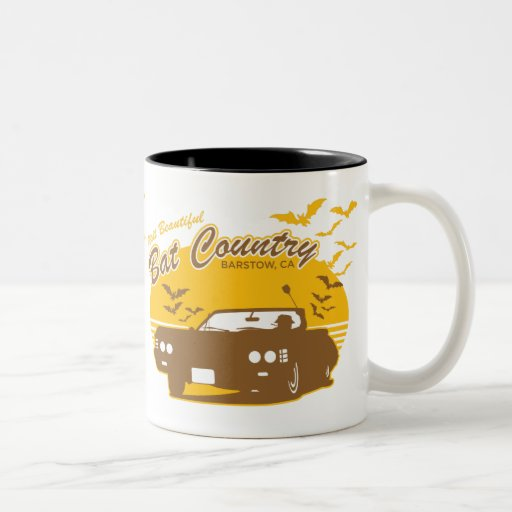 Bat Country - we can't stop here Coffee Mugs