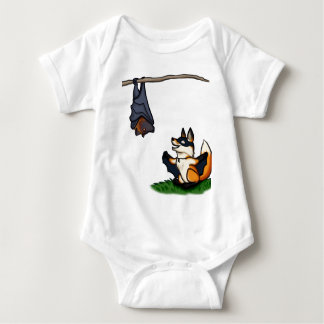Bat Foxes Baby Bodysuit