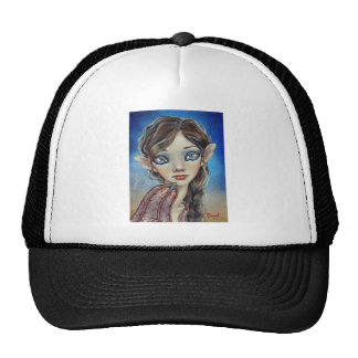 Bat Girl Mesh Hats