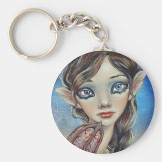 Bat Girl Key Chain