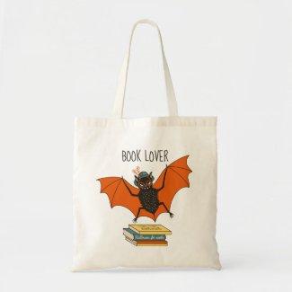 Bat Granny Book Lover Tote Bag