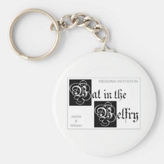 Bat in the Belfry logo keyring