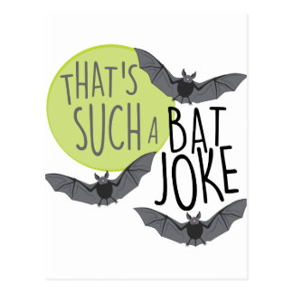 Bat Joke Postcard