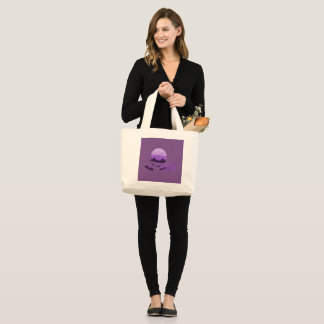 Bat Large Tote Bag