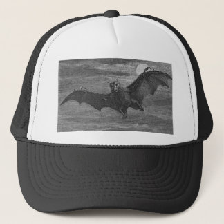 Bat Lithograph Trucker Hat