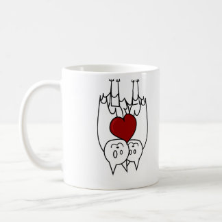 Bat Love Classic White Coffee Mug