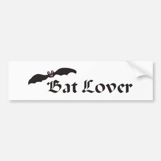 Bat Lover Bumper Sticker