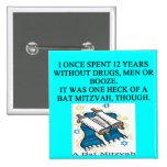 bat mitzah badges