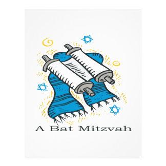 Bat Mitzvah 21.5 Cm X 28 Cm Flyer