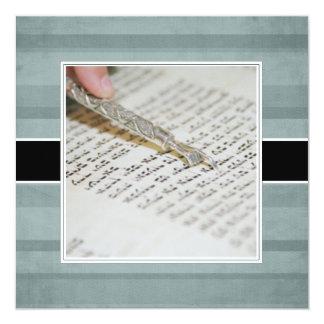 Bat Mitzvah Announcements/Invitations 13 Cm X 13 Cm Square Invitation Card