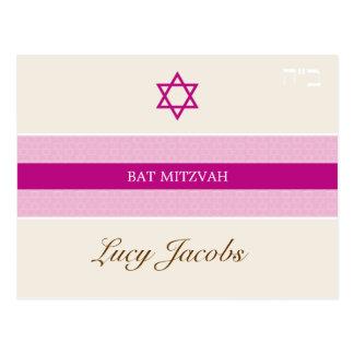 BAT MITZVAH girl 1 Postcards