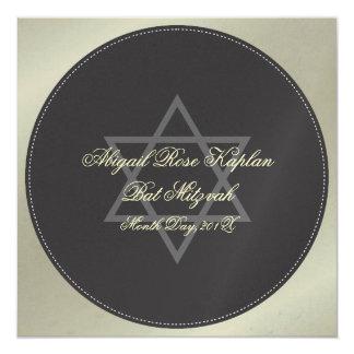 Bat Mitzvah invitations, Card