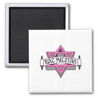 Bat Mitzvah Square Magnet