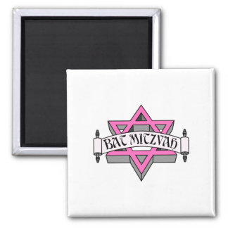 Bat Mitzvah Refrigerator Magnet