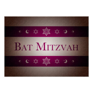 Bat Mitzvah Print
