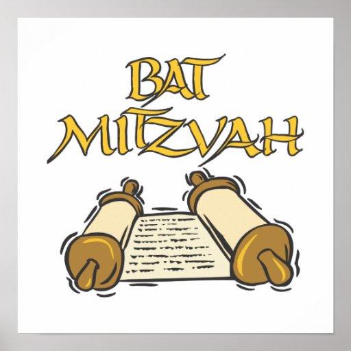 Bat Mitzvah Posters