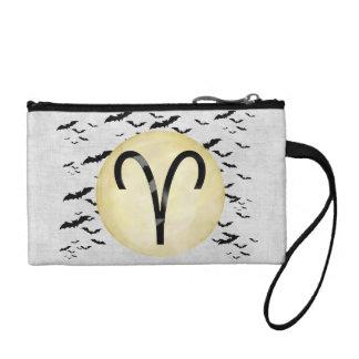 Bat Moon Aries Coin Wallet