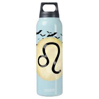 Bat Moon Leo Insulated Water Bottle
