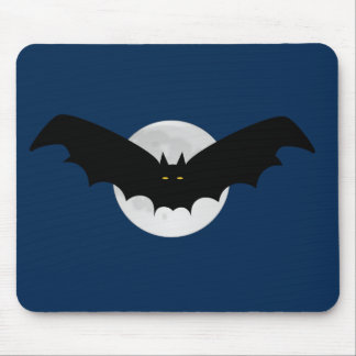 Bat Moon Mouse Pad