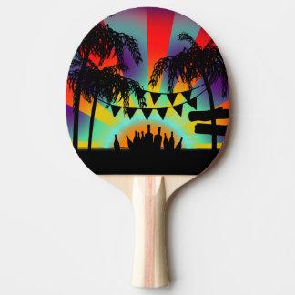 Bat plays ping-pong - Summer style