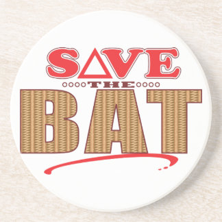 Bat Save Coaster