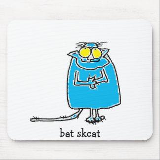 """""""Bat Skcat"""" mousepad by Susan McGraw Keber"""