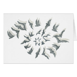 'Bat Spiral' Note Cards