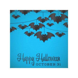 Bat string canvas prints