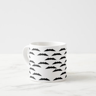 Bat swarm espresso mug