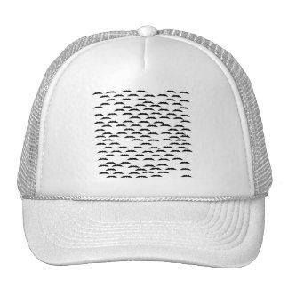 Bat swarm trucker hats