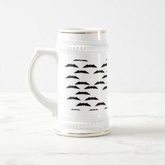 Bat swarm coffee mug