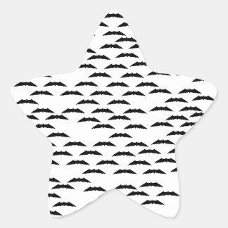 Bat swarm stickers