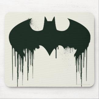 Bat Symbol - Batman Logo Spraypaint Mouse Pad