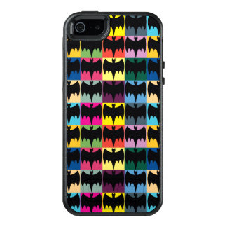 Bat Symbol Grid Pattern OtterBox iPhone 5/5s/SE Case