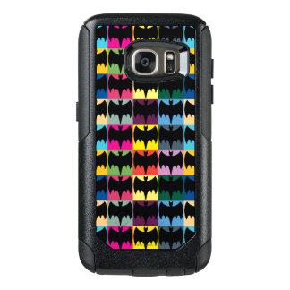 Bat Symbol Grid Pattern OtterBox Samsung Galaxy S7 Case