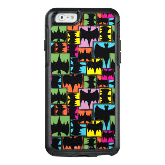 Bat Symbol Squares Pattern OtterBox iPhone 6/6s Case