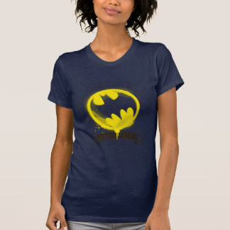 Bat Symbol Tagged Over Justice League Tee Shirts